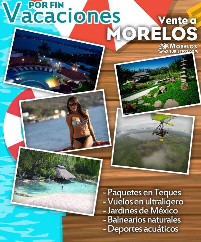 Vacaciones en Cuernavaca, Tepoztlán, Tequesquitengo, Morelos